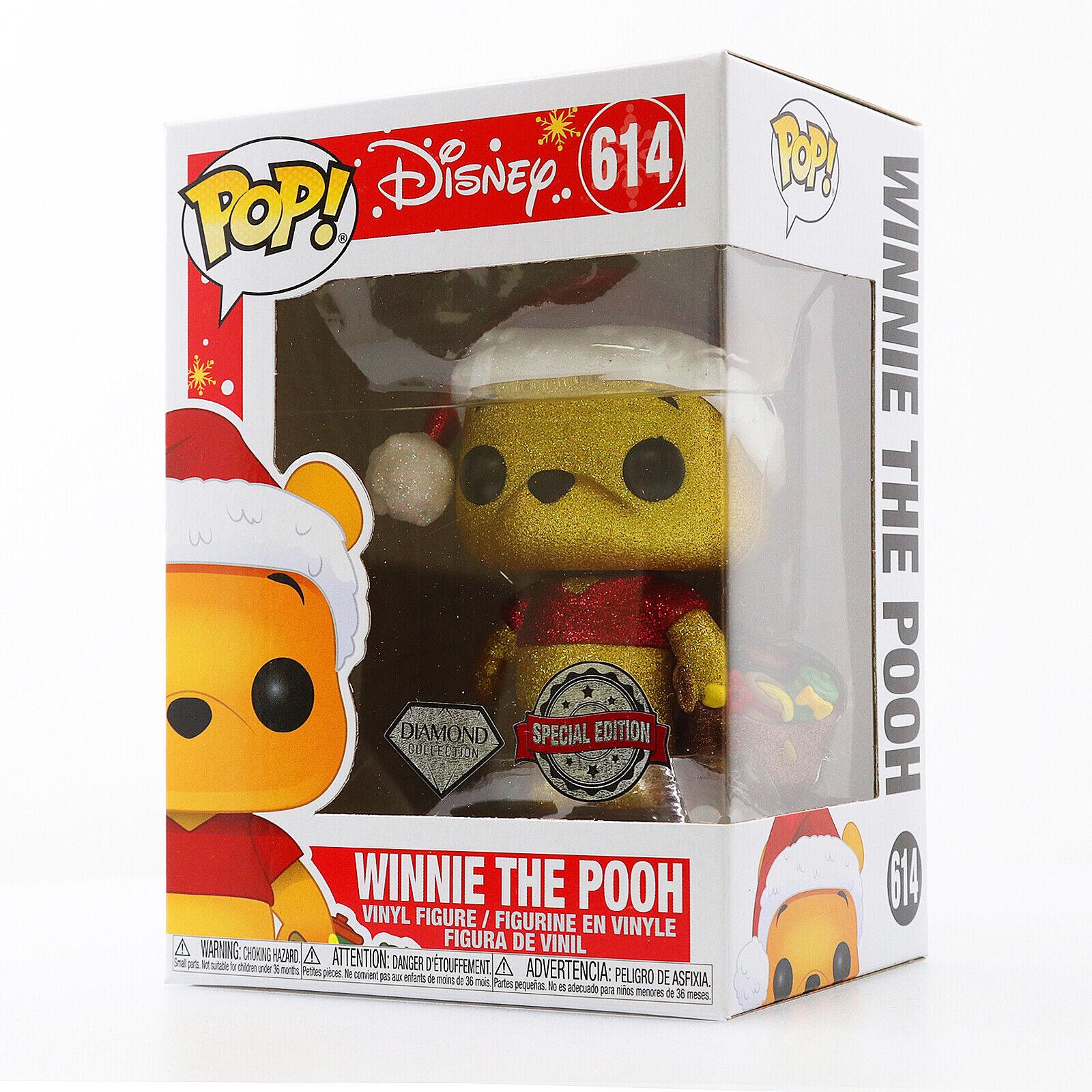 Funko POP! Disney - Winnie the Pooh Holiday Diamond Glitter
