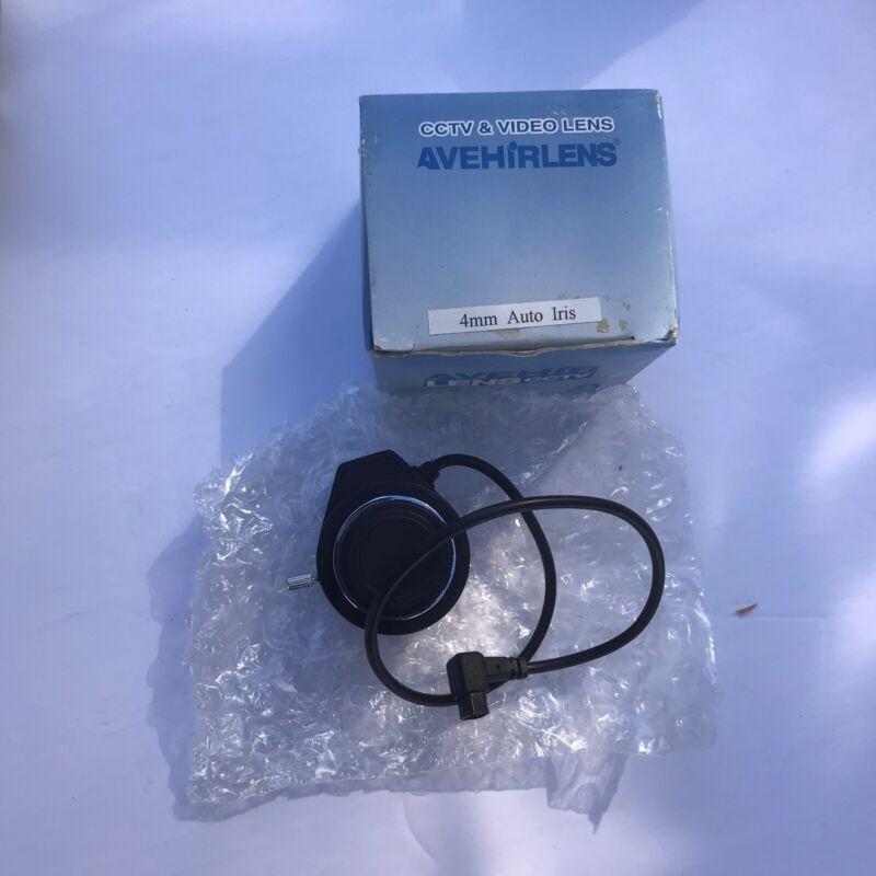 Avehir CCTV Lens 4mm F1.2   A17