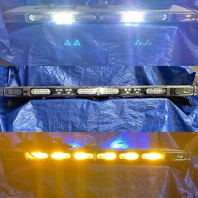 Whelen Lfl Liberty Sw8 Wecan Super Led Lightbar Split Traffic Advisor Msrp 3850