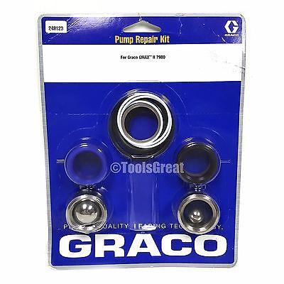 Graco Gmax Ii 7900 Sprayer Pump Packing Repair Kit 249123