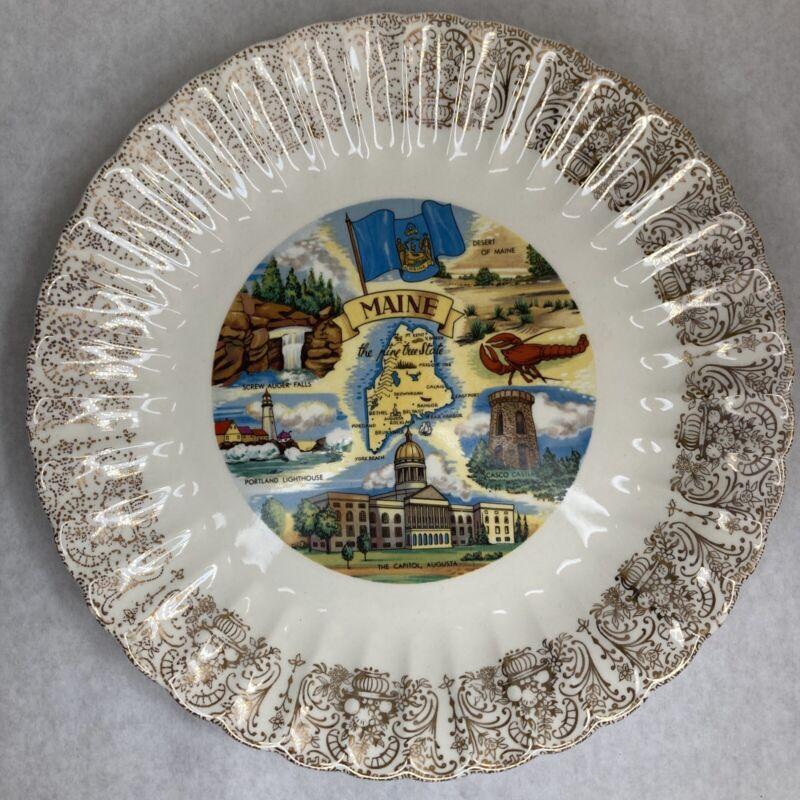 Vintage Maine Collectors/Souvanir Plate