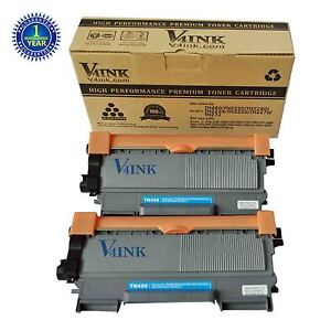 2 V4INK TN450 TN-450 Toner Cartridge FOR Brother HL-2250DN HL-2270DW HL-2280DW