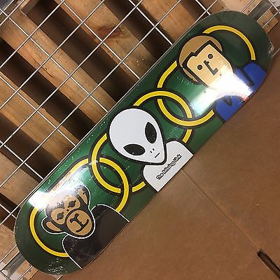 New Alien Workshop Missing Link Large Green Skateboard Deck - (Alien Workshop Skateboard Deck)