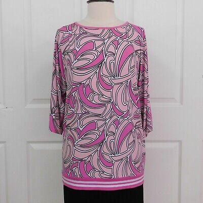 0b7e0ab3883a NWT Michael Kors Peach Blossom Pink & Purple Women