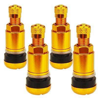 4 St. Ventil X1 Series Gold Edition Metallventil Felgenventile Alufelgen 11,3mm