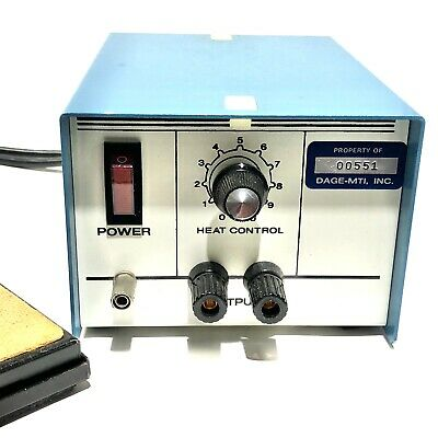 Pace 2476 Heat Control Station Soldering Blue With A6008 - 0008 Pedal