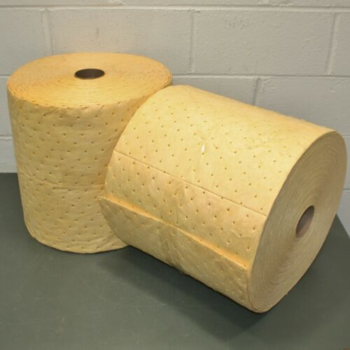 Spilfyter Hazardous Material Absorbent Rolls S2-91BX, 30 Gallons Absorbed, Perf.