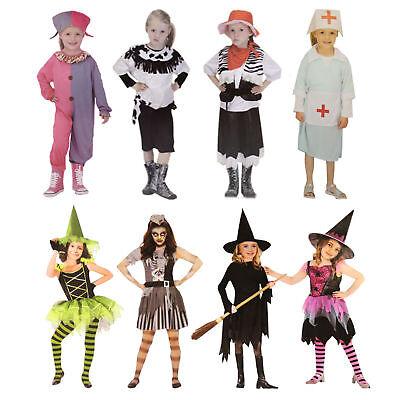 Kinder Kostüm Fasching Mädchen Cowgirl Zombie Hexe Biene Krankenschwester