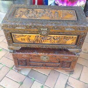 2 x Camphor Chests Runcorn Brisbane South West Preview
