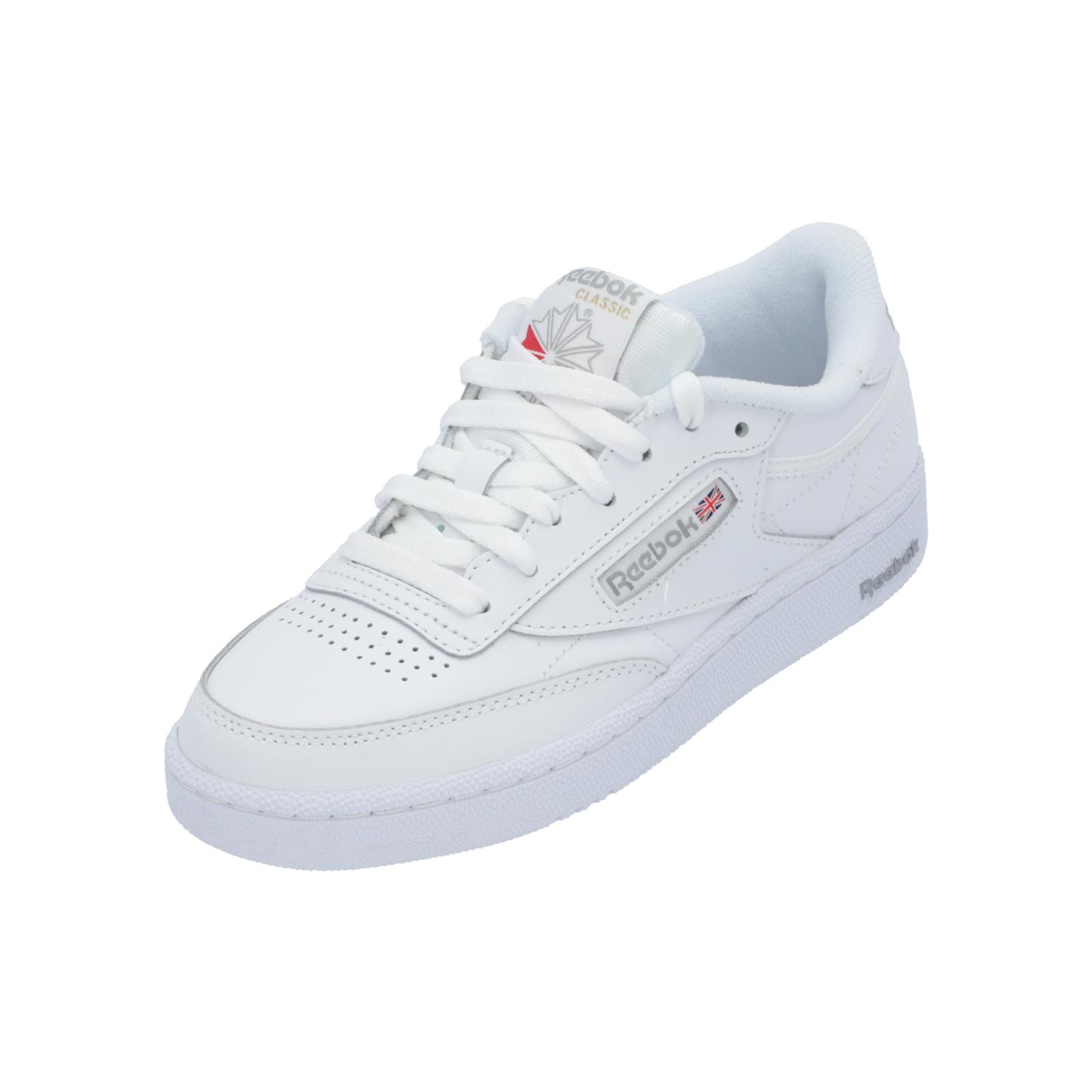 Reebok Classic CLUB C 85 Damen Herren Sneaker Weiß Turn-Schuhe Sport Lauf Schuhe