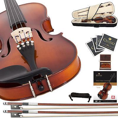 Купить Cecilio - Cecilio Ebony Fitted Violin 4/4 3/4 1/2 1/4 1/8 CVN-300 +Tuner+Book/Online Video