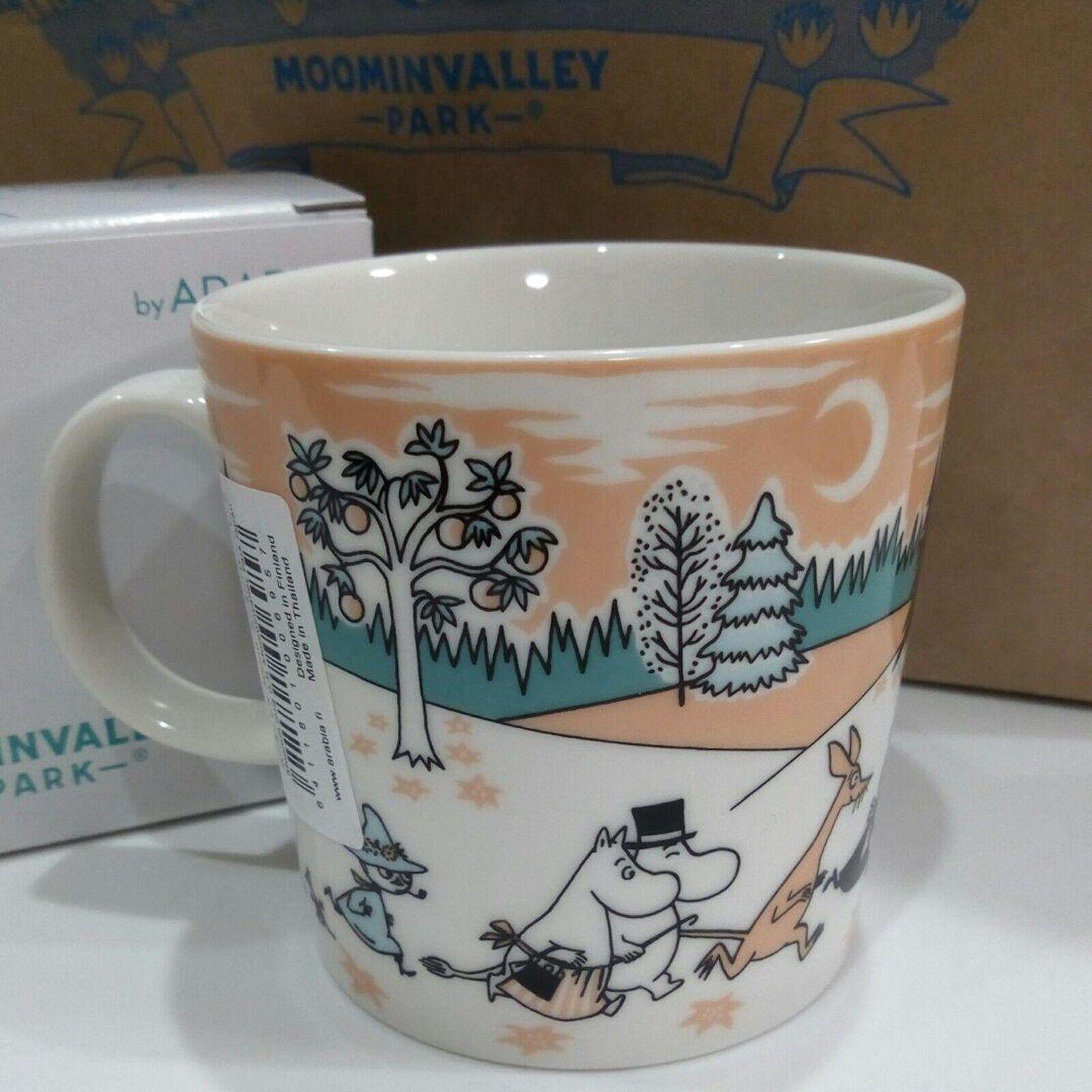 как выглядит Arabia Moomin Valley Park Japan Limited Exclusive Moomin Mug 2019 MOOMINVALLEY фото
