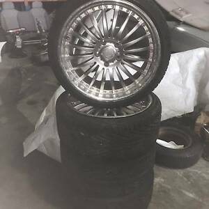 "For Sale Set of 19"" Mag Wheels to suit various make and models East Rockingham Rockingham Area Preview"