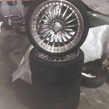"""For Sale Set of 19"""" Mag Wheels to suit various make and models East Rockingham Rockingham Area Preview"""
