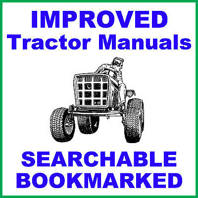 Allis Chalmers B-10 B10 Garden Tractor Service Manual Parts Ipc -2- Manuals Cd