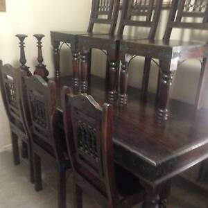 timber dining table Redland Bay Redland Area Preview