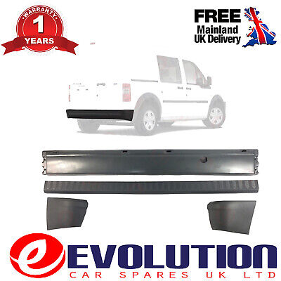 REAR BUMPER BAR /& END CAPS FORD TRANSIT MK6 MK7 2000-2014 PICK UP CHASSIS TIPPER