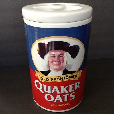 Vintage/Retro 1997 Quaker Oats Cookie Jar- 120th anniversary edition for sale  Saugerties