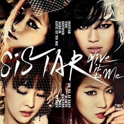 K-POP SISTAR 2nd Album [Give it to me] CD + Photobook Sealed Music CD
