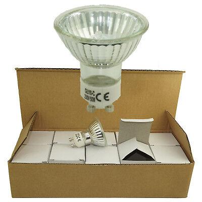 High Power GU10 50W 220V halogen Light Bulb Spotlight Downlight Energy Saving