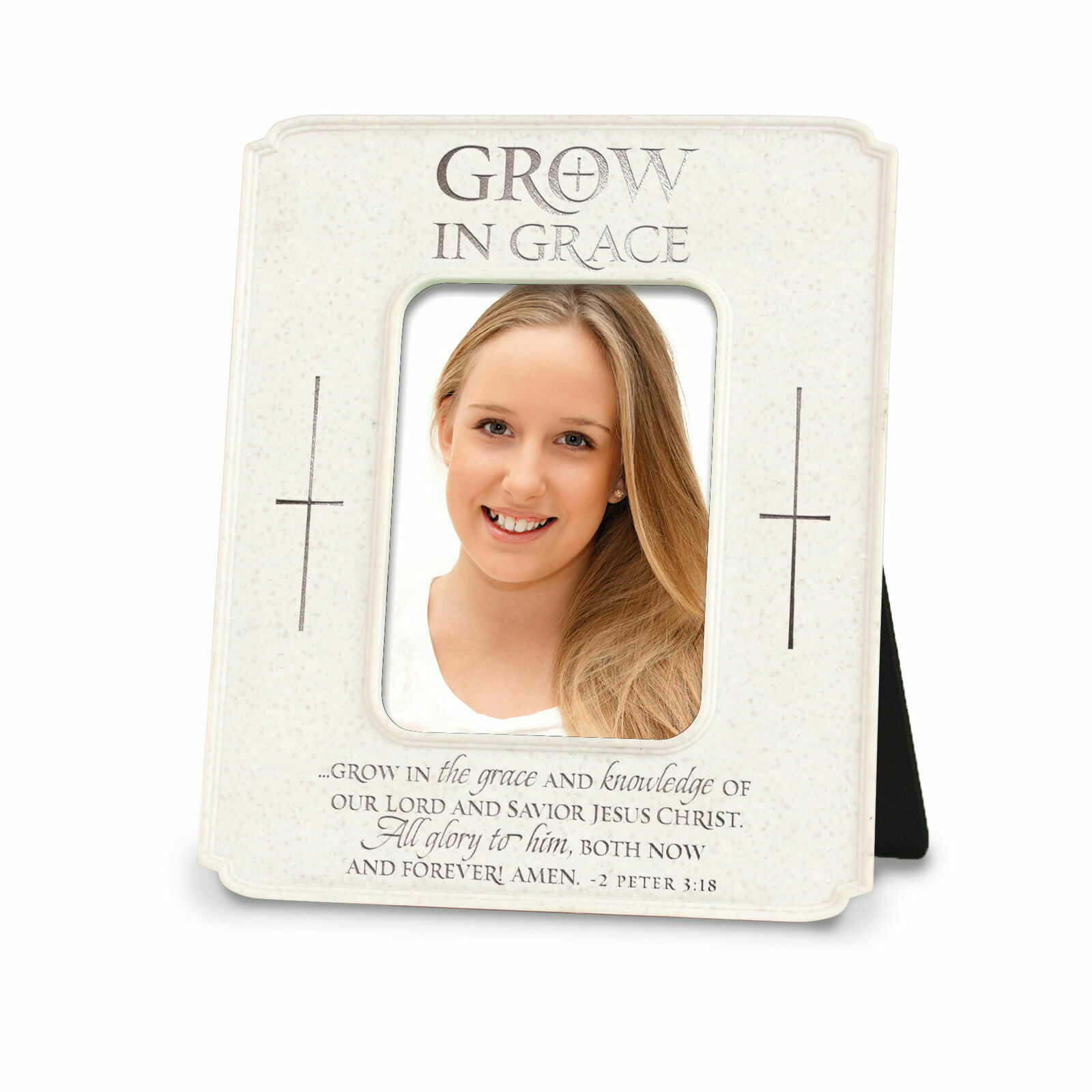 Confirmation Frame By Lighthouse Products 17264 - Cast Stone - FREE SHIPPING  - $13.99