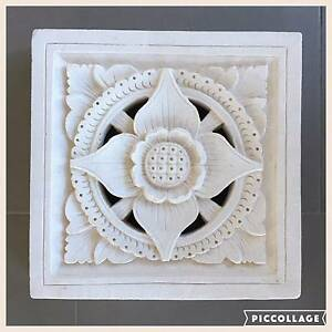 3 piece Bali inspired lotus outdoor wall/decorative tile Barton South Canberra Preview