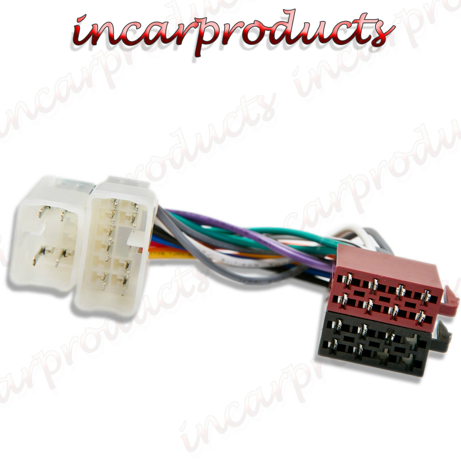 Radio Harness Adapter Car Stereo Wiring Harnesses Page 5 Walmart Toyota Iso Connector Rh Ebay Co Uk Canadian Tire
