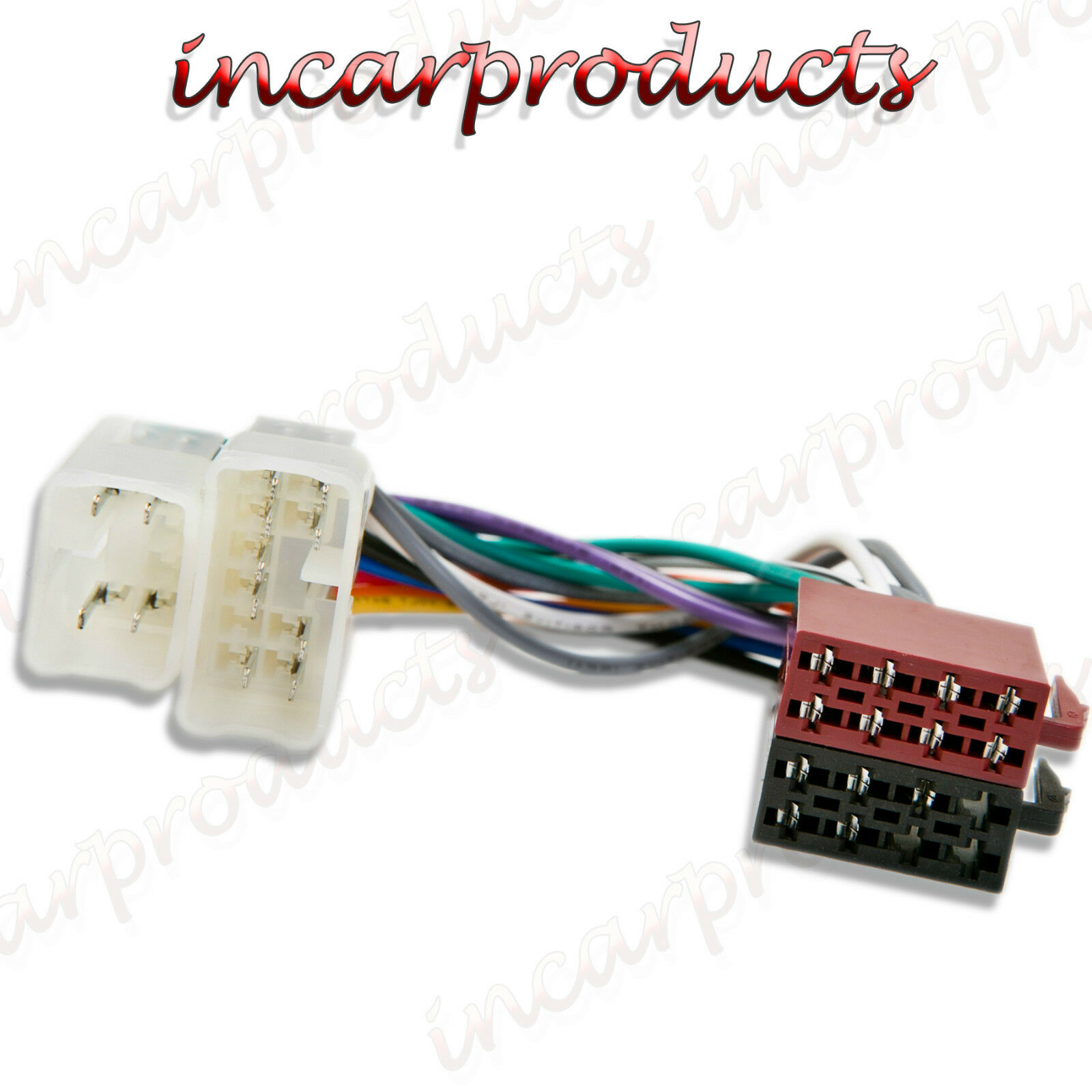 Iso Wiring Harness Adapter Solutions Chrysler Toyota Radio Stereo Connector
