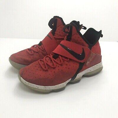 huge discount 8590b f6d74 LEBRON JAMES Shoes XIV 14 Basketball Men s University Red 852405-600 SIZE 12