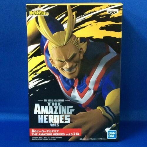 ALL MIGHT The amazing heroes Vol.5 figure My Hero Academia Hiroaka Banpresto NEW