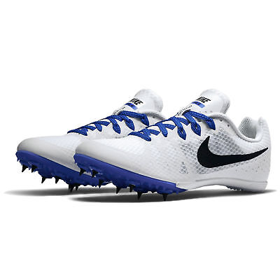 e1b14caefe4 Nike Men s Zoom Rival M 8 Track Field Running Racing Spikes Shoes White Size  13