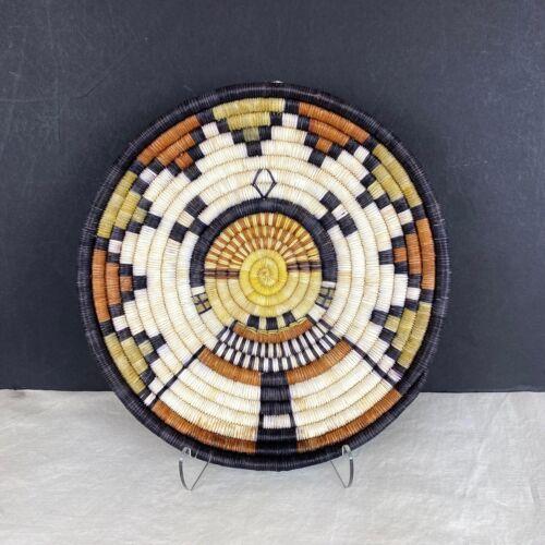 Hopi Katsin Mana Close Weave Basket