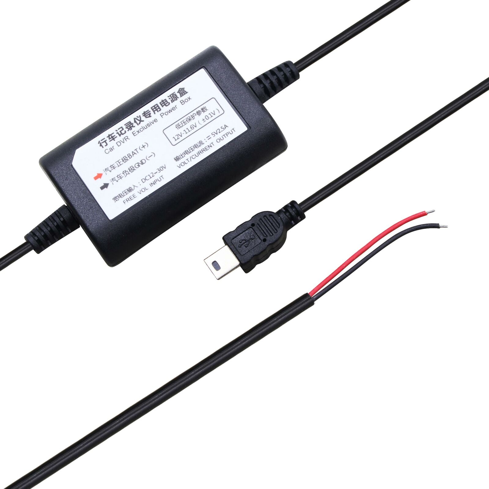Hardwire USB Car Charger power cord for Garmin Dash Cam 30 35 GDR33 43 Dashcam
