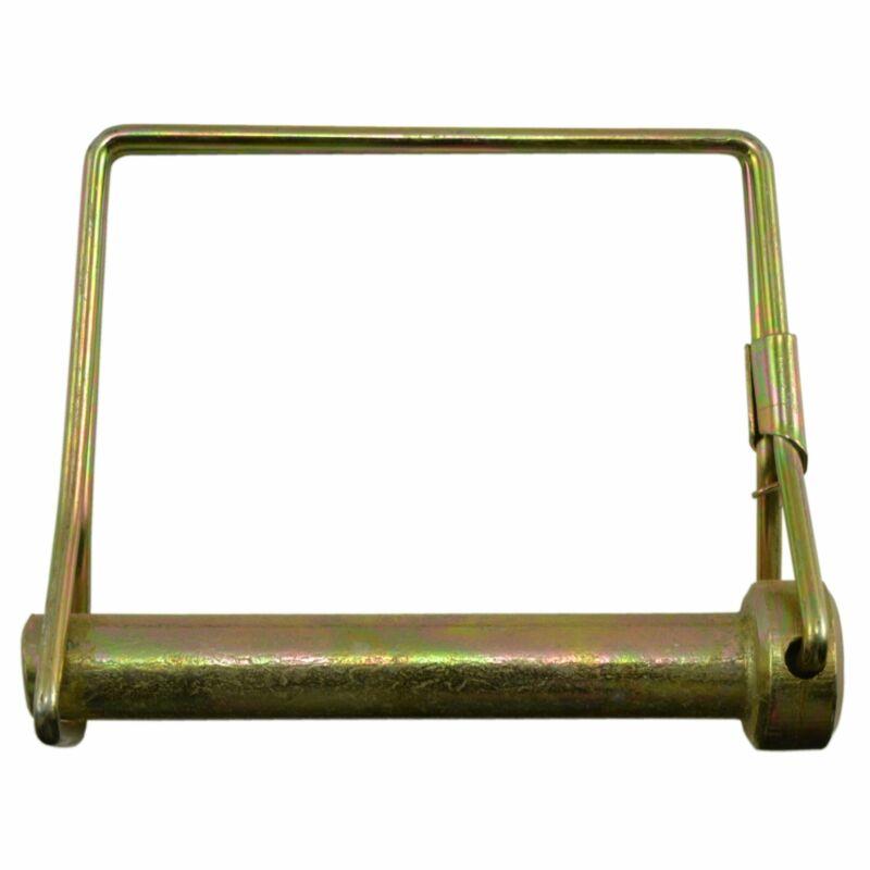 "3/8"" x 2-1/2"" Zinc Plated Steel Square Wire Lock Pins SNPPN-128"