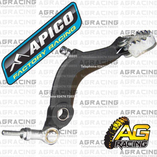 Apico Black Rear Foot Brake Pedal Lever For Ossa TR 280 2011-2015 Trials New