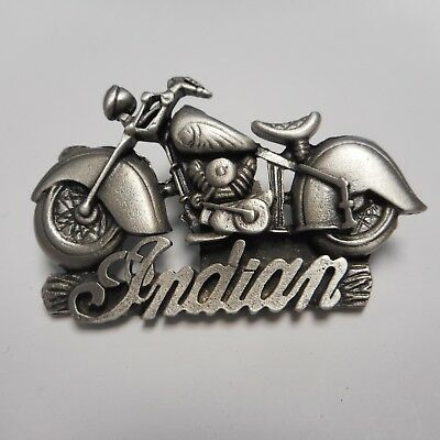 FANTASTIC INDIAN MOTORCYCLE PIN GREAT BIKER PIN ** WOW *****