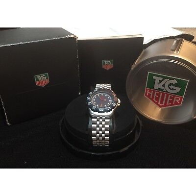 TAG HEUER Vintage F1 Blue/red Combo 200 meter quartz watch