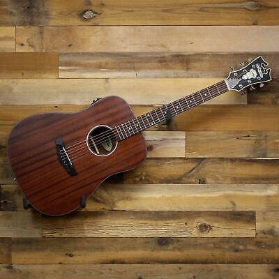 D'Angelico Premier Lexington LS Dreadnought Acoustic-Electric Guitar Mahogany