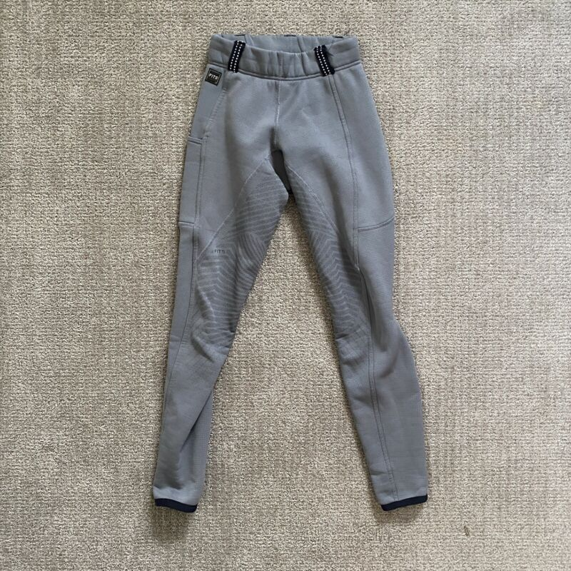 FITS Gray Winter Fullseat Breeches