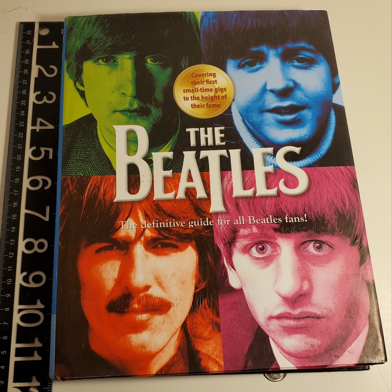 THE BEATLES The Definitive Guide For All Beatles Fans Kim Aitken 2015 Hardcover - $14.99