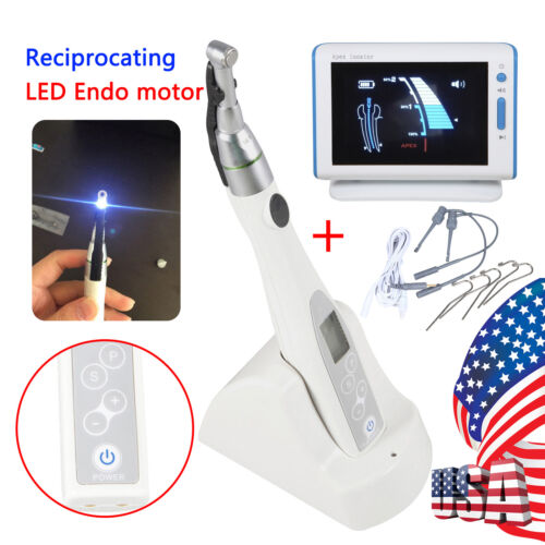 Dental Endo Root canal Apex Locator with Cordless LED Endo Motor cordles