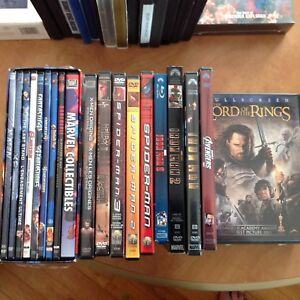 DVDs, assorted titles