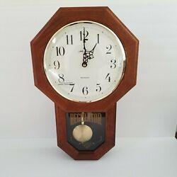 NEW Seth Thomas Quartz Wall Clock in original box and packaging 19x 12 x 4