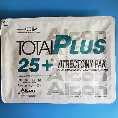 Alcon Accurus Total Plus Pak 25 Vitrectomy Pak 8065751493 Expire 2020-05-31