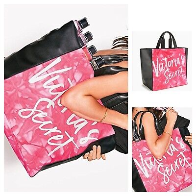Tie Dye Bags (Victoria's Secret Limited Edition Pink Tie Dye Tote Bag)