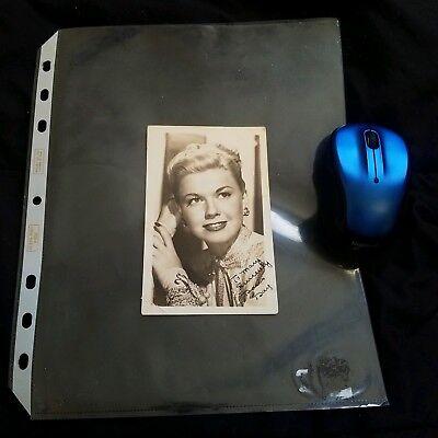 - Doris Day Signed Original Post Card Photo Autograph Classic Actress