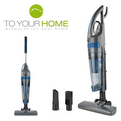 Dihl 3 in 1 Vacuum Cleaner Blue 800W Hand Held Upright Stick Bagless Corded Vac