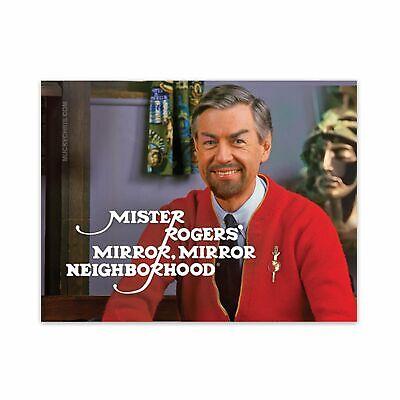 Star Trek   Mr. Rogers   Mirror Mirror   Sticker