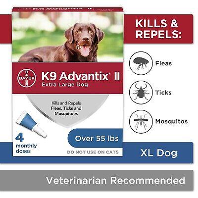 K9 Advantix II Spot On Flea &Tick Treatment Extra Large Dogs Over 55 lbs 4