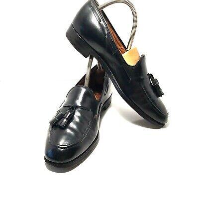 Church's Royal Tweed Premium Grade US 9.5 UK Size 8.5 D E Black Tassel Loafer
